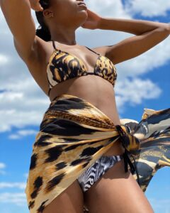 Avid Swim Swimwear - Jungle two-piece with wrap