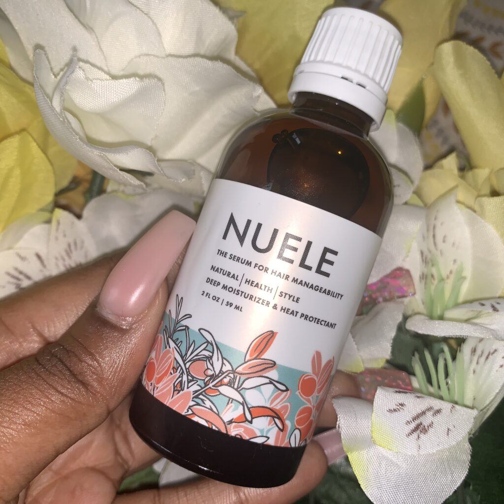 Nuele Serum for Hair Manageability
