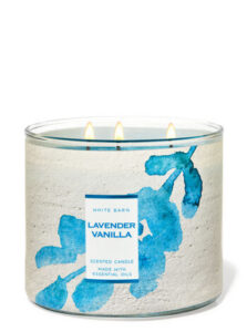 Lavender Vanilla candle scent from Bath and Body Works